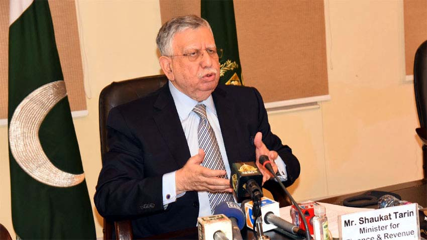 Shaukat Tarin links investment to better govt economic Policies