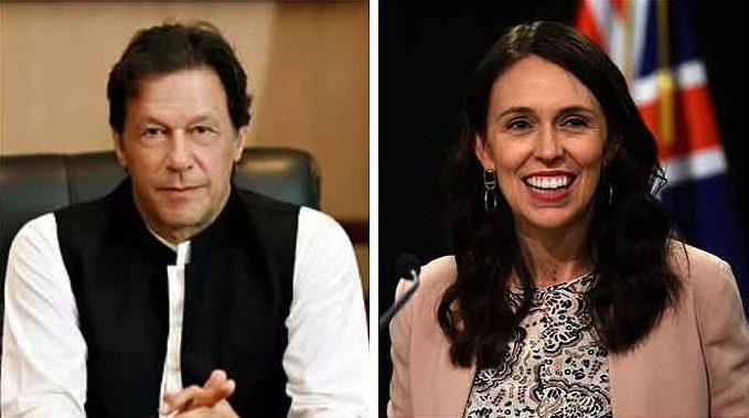 PM Imran Khan contacts New Zealand PM Jacinda Ardern