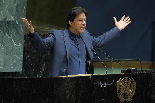Prime Minister Imran Khan will address the General Assembly